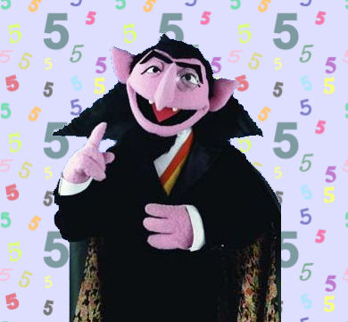 the count 5